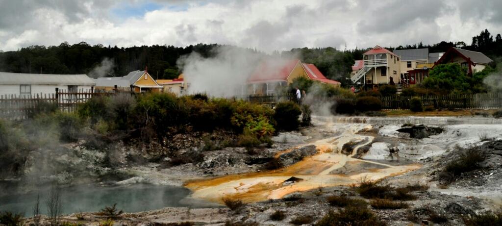maori dorp